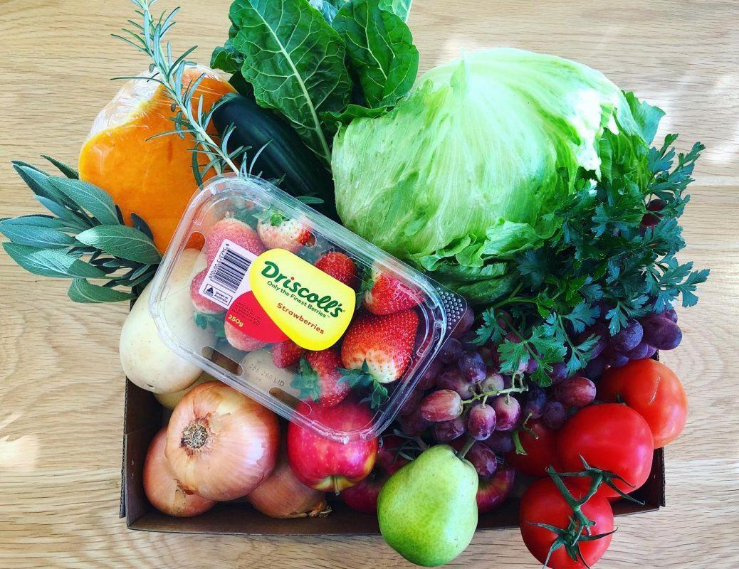 Brightside deli cafe South Australian Fresh produce Box from Brightside Deli